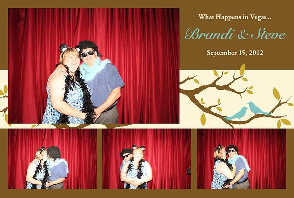 Brandi & Steven Wedding September 15, 2012