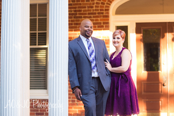 Brandon & Karyn's Engagement Session :: Downtown Raleigh, NC :: AO&JO Photography (Raleigh Wedding Photographer)