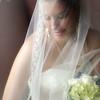 bride with boquette
