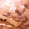 Buffet tables<br /> Infrared Photography, currently as a courtesy to brides by On A Wing, Photography by Lisa Reid
