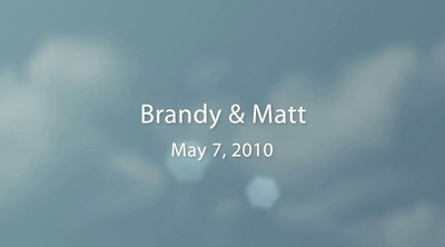 Matt & Brandy Wedding