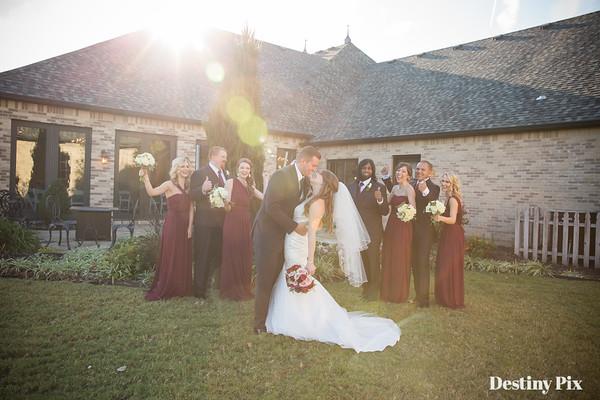 Brannon and Emily's Wedding Pix @Vesica Piscis Chapel