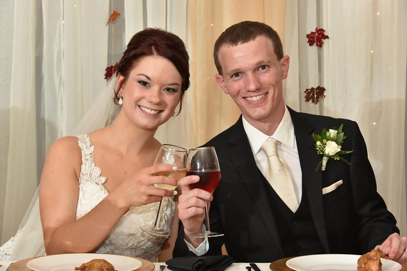 Brett and Tabitha Reception