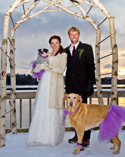 Brian and Tiffany:  Wedding photos