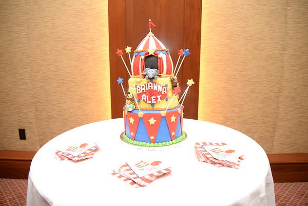 Brianna & Alex Circus Birthday