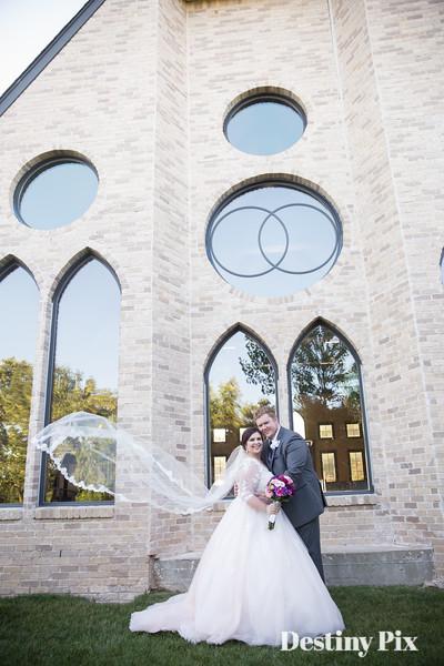 Brianne and Michael's Wedding Pix @Vesica Piscis Chapel