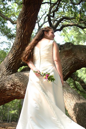 Katherine Richard Bridal Portrait at The Angel Oak