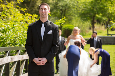Clark Bride and Groom Images