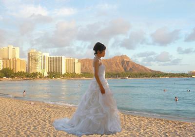 bride Diamond Hd Beach 1111