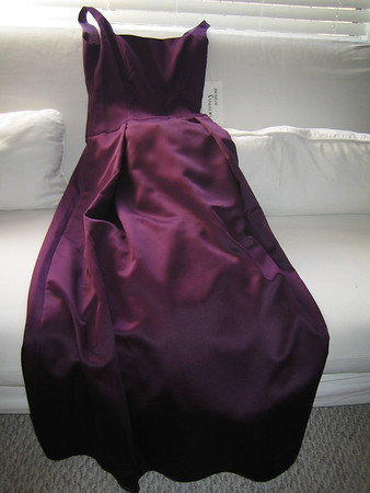 Bridesmaid dress for Jean's wedding