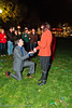 Brinae and David Proposal. Pioneer Park SLC Nov 23 2013.