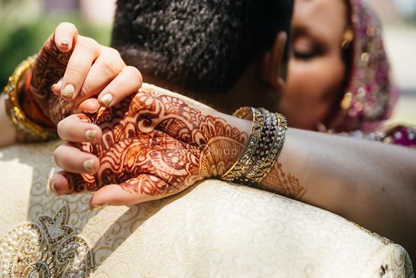brit + raj | wedding | the masonic temple, detroit