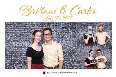 Brittani & Carter Wedding - July 22, 2017