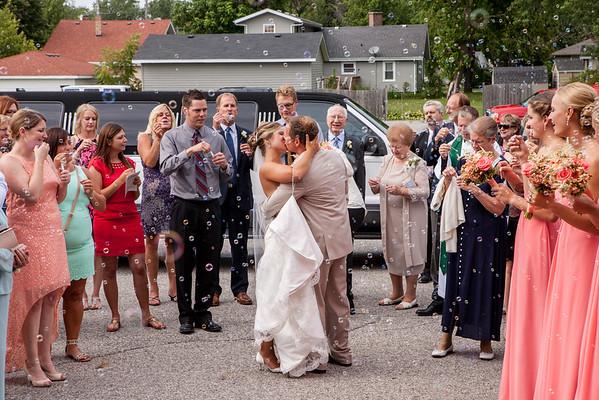 Brittany + Ryan Wedding - 8/8/15