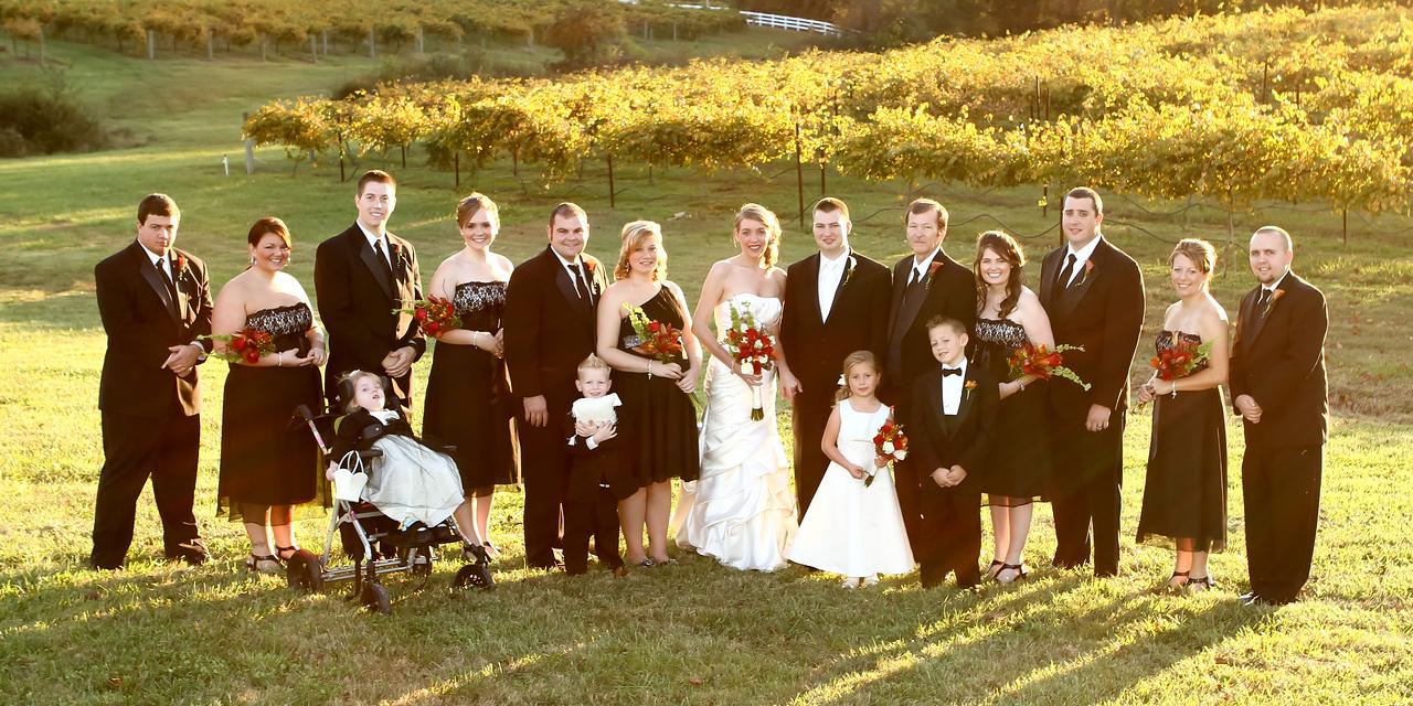 30-31 Wedding Party Pano