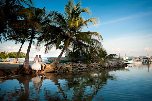 Brittiany & Brandon - Wedding - Belize - 8th of November 2014