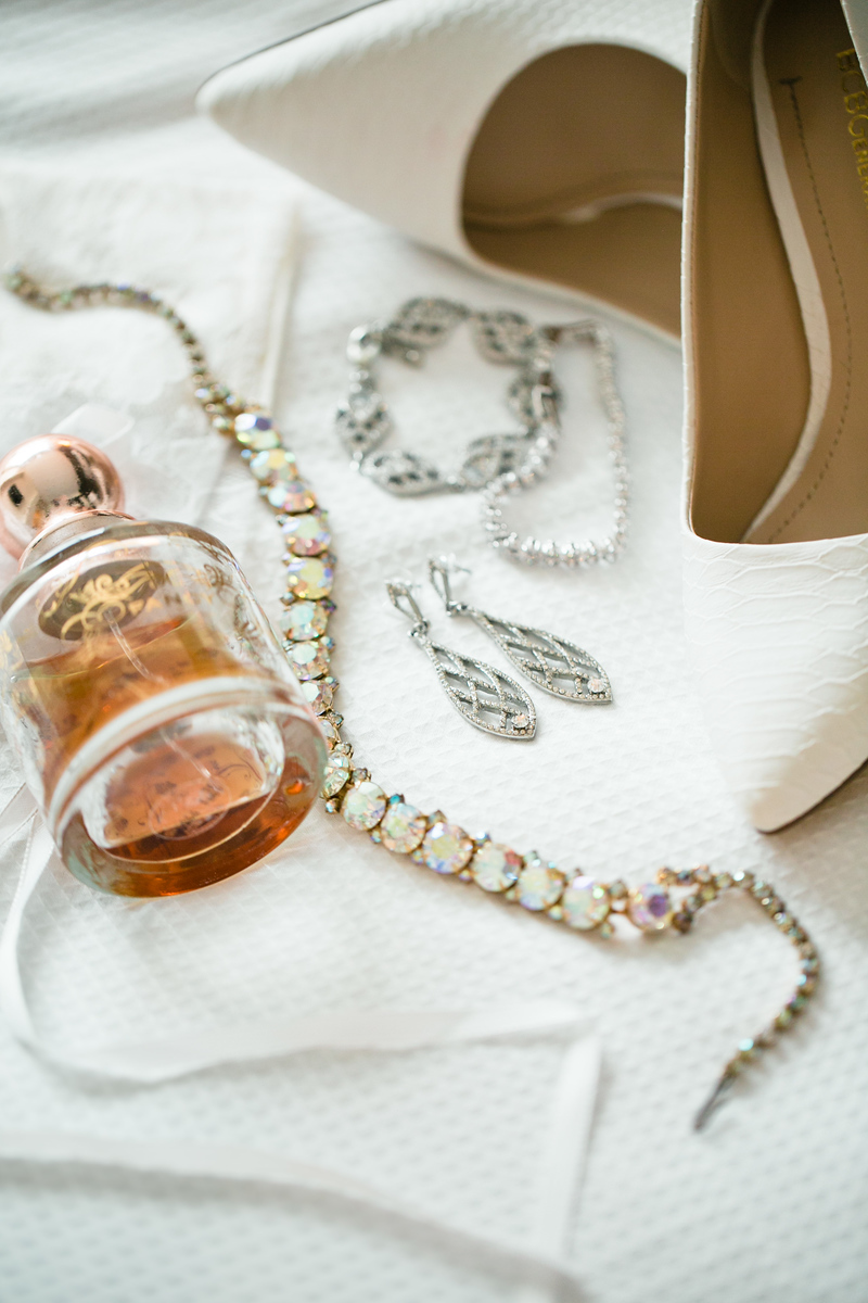 east bay wedding photographers, fancy perfume, jewelry, brides jewelry, white lace brides shoes