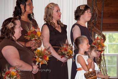 The bridesmaids.