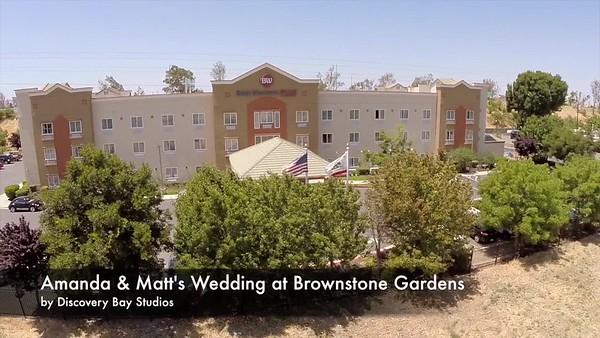 Brownstone Gardens Wedding Amanda & Matt