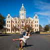 Presidio County Courthouse, downtown Marfa , TX