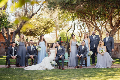 Bridal Party - Family Group
