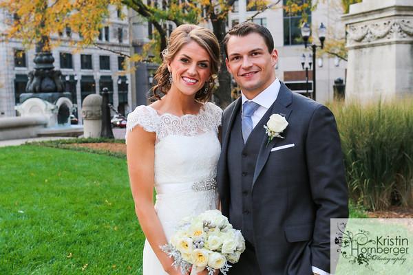 Caitlin + David = Married!