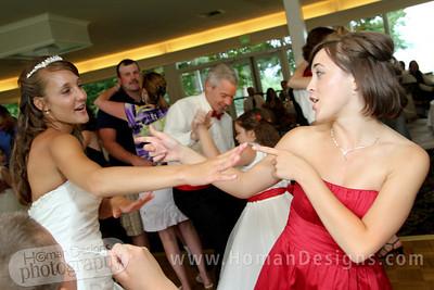Caitlin and Beka on the dance floor.
