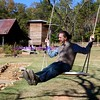 best man on a swing