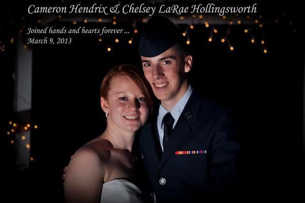 Cameron & Chelsey Hendrix Wedding