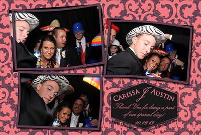 Carissa and Austin James Wedding