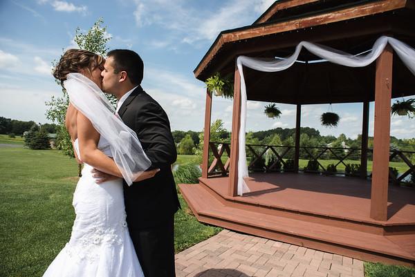 carissa + ricky | wedding | the silo, allegan