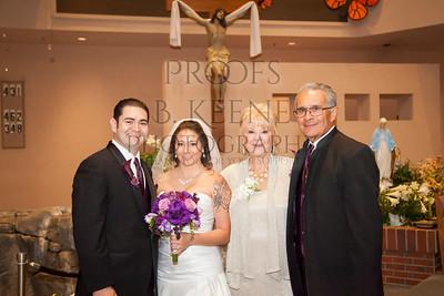 Bride Groom & Family