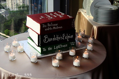 The groom's cake at Carly and Tom's wedding - Atlanta, GA ... June 17, 2011 ... Photo by Rob Page III