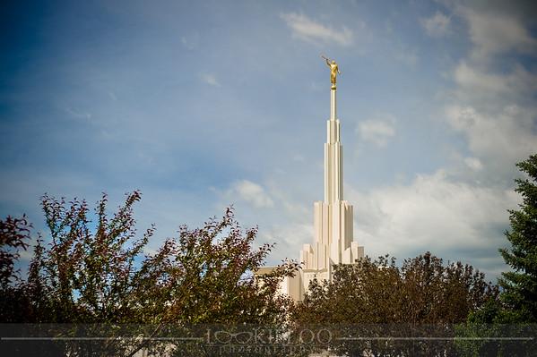 Denver Temple Candids