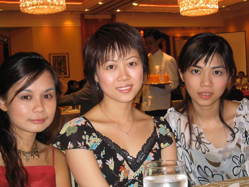 (From left to right): Yan Yan, Charing, Pauline