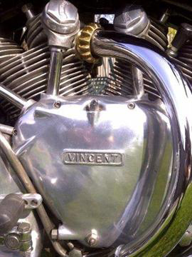 1949 Vincent 1000cc with 'White Shadow' engine a6