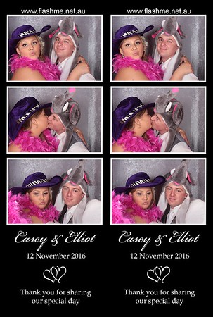 Casey & Elliot's Wedding - 12 November 2016