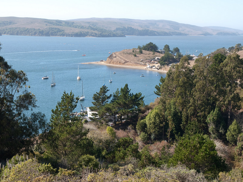 Tomales Bay from the Marconi Center