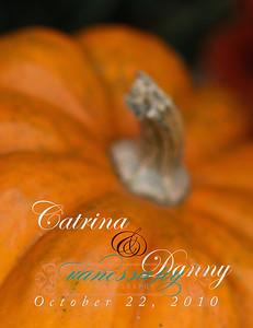 Catrina wedding album layout 001 (Side 1)