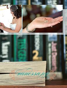 Catrina wedding album layout 005 (Side 10)