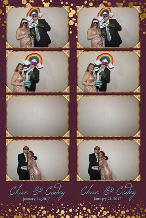 Chae and Codey Wedding