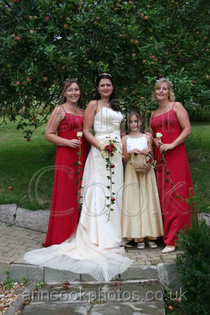 Handfasting - Bride and Bridesmaids