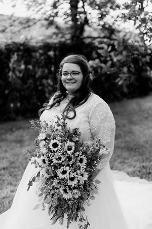 01296©ADHPhotography2020--ChanceKellyHayden--Wedding--AUGUST1bw