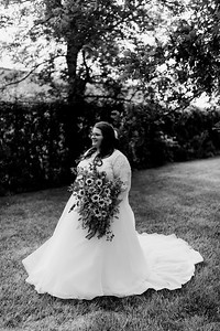 01284©ADHPhotography2020--ChanceKellyHayden--Wedding--AUGUST1bw