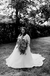 01287©ADHPhotography2020--ChanceKellyHayden--Wedding--AUGUST1bw