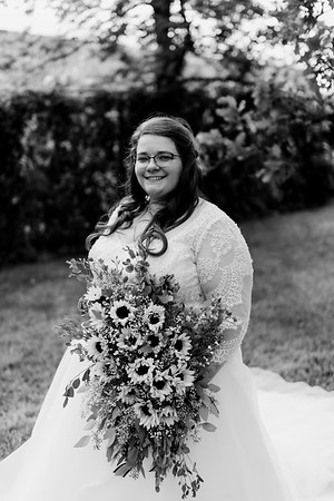 01295©ADHPhotography2020--ChanceKellyHayden--Wedding--AUGUST1bw