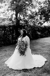 01282©ADHPhotography2020--ChanceKellyHayden--Wedding--AUGUST1bw