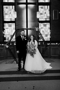 01435©ADHPhotography2020--ChanceKellyHayden--Wedding--AUGUST1bw