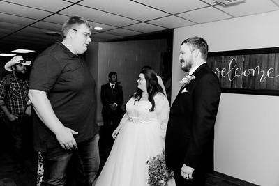 01038©ADHPhotography2020--ChanceKellyHayden--Wedding--AUGUST1bw