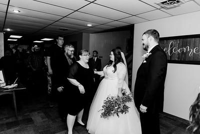 01032©ADHPhotography2020--ChanceKellyHayden--Wedding--AUGUST1bw